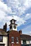 Village clock tower Stock Photos