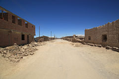 Village of Colchani in Bolivia, South America Stock Photos