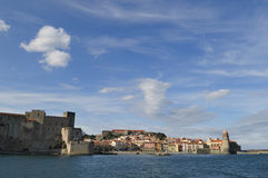 Village of Collioure Royalty Free Stock Photography