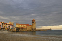 Village of Collioure Stock Photos