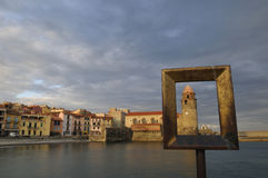 Village of Collioure Royalty Free Stock Photos