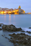 Village of Collioure Stock Photography