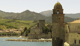 Village of Collioure, France Stock Photos
