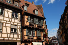 Village of Colmar, France Royalty Free Stock Photo