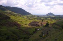 Village coloré Satara-II Photographie stock libre de droits
