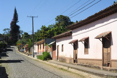 The village of Conception de Ataco on El Salvador Royalty Free Stock Photography