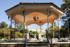 The village of Conception de Ataco on El Salvador Stock Image