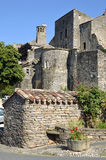 Village of Cordes-sur-Ciel in France Royalty Free Stock Images