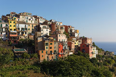 The village of Corniglia Stock Photography