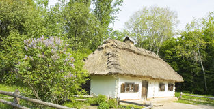 Village cottage, Ukraine Royalty Free Stock Images