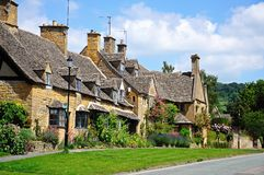 Village cottages, Broadway. Stock Image