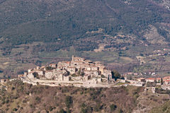 The village of cottanello Stock Photography