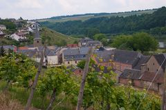 Ehnen,luxembourg Royalty Free Stock Image