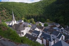 Esch sur sure,luxembourg Royalty Free Stock Photo