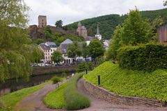 Esch sur sure,luxembourg Royalty Free Stock Photography