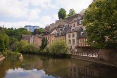 Grund,luxembourg Stock Photo