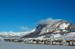 Village in Crested Butte Stock Photo