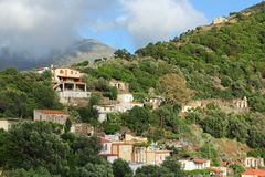 Village in Crete Stock Photography