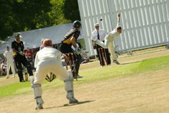 Village cricket Royalty Free Stock Photography