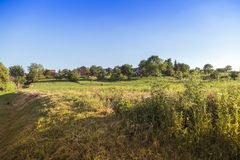 Village in Croatia Stock Photo