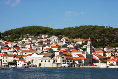 The village in Croatia Royalty Free Stock Photo
