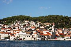 The village in Croatia Royalty Free Stock Photo