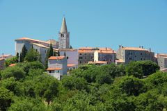 Village in Croatia Royalty Free Stock Images