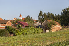 Village in Croatia Royalty Free Stock Photography