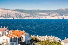 Village on croatian coast Royalty Free Stock Image