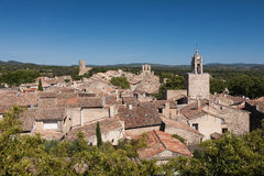 Village of Cucuron in Provence Stock Photography