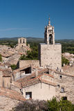 Village of Cucuron in Provence Royalty Free Stock Image