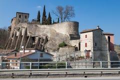 The village of Cusercoli Stock Photo