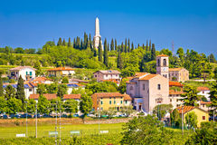 Village of Custoza idyllic landscape view. Veneto region of Italy stock photo