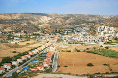 Village in Cyprus Royalty Free Stock Photo