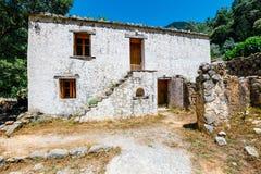 Village déplacé Samaria, Crète, Grèce photos libres de droits