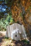 Village déplacé Samaria en Samaria Gorge, Grèce photographie stock