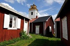 Village d'église de Gammlestad Photographie stock libre de droits