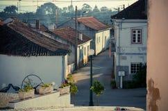 Village d'Alcorochel Image stock