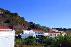Village d'Alte au Portugal Image libre de droits