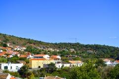 Village d'Alte au Portugal Images stock