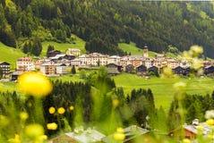 Village d'amour en dolomite Image stock
