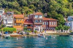 Village d'Anadolu Kavagi Image stock