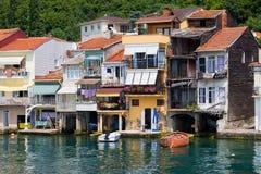 Village d'Anadolu Kavagi en Turquie Images libres de droits