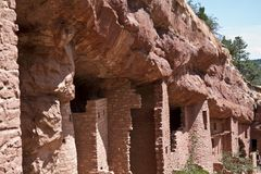 Village d'Anasazi Images stock