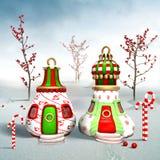 Village d'Elfs illustration libre de droits