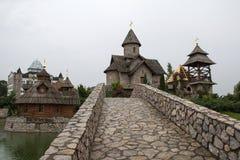 Village d'Ethno Image libre de droits