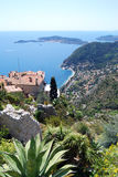 Village d'Eze Photo stock