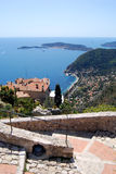 Village d'Eze Photos libres de droits