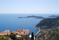 Village d'Eze Photo libre de droits