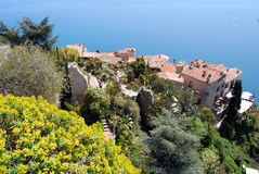 Village d'Eze Image stock